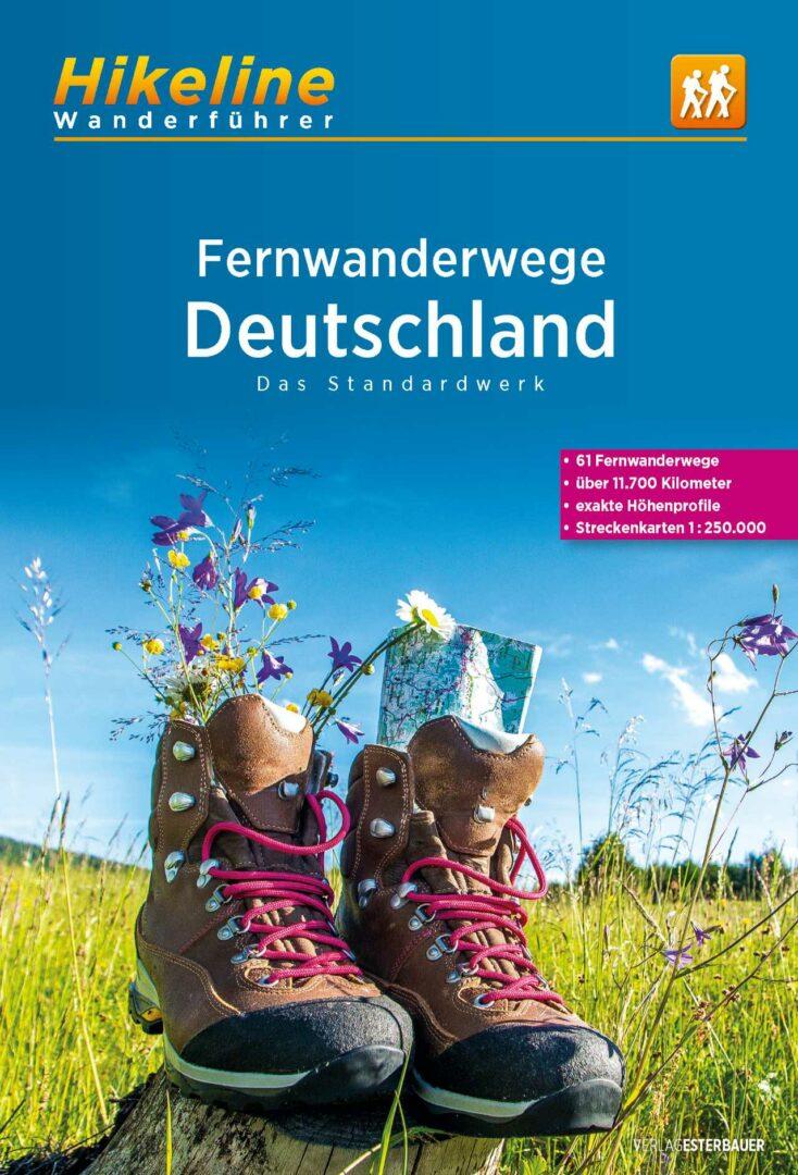 Hikeline Überblickswerk - Fernwanderwege Deutschland