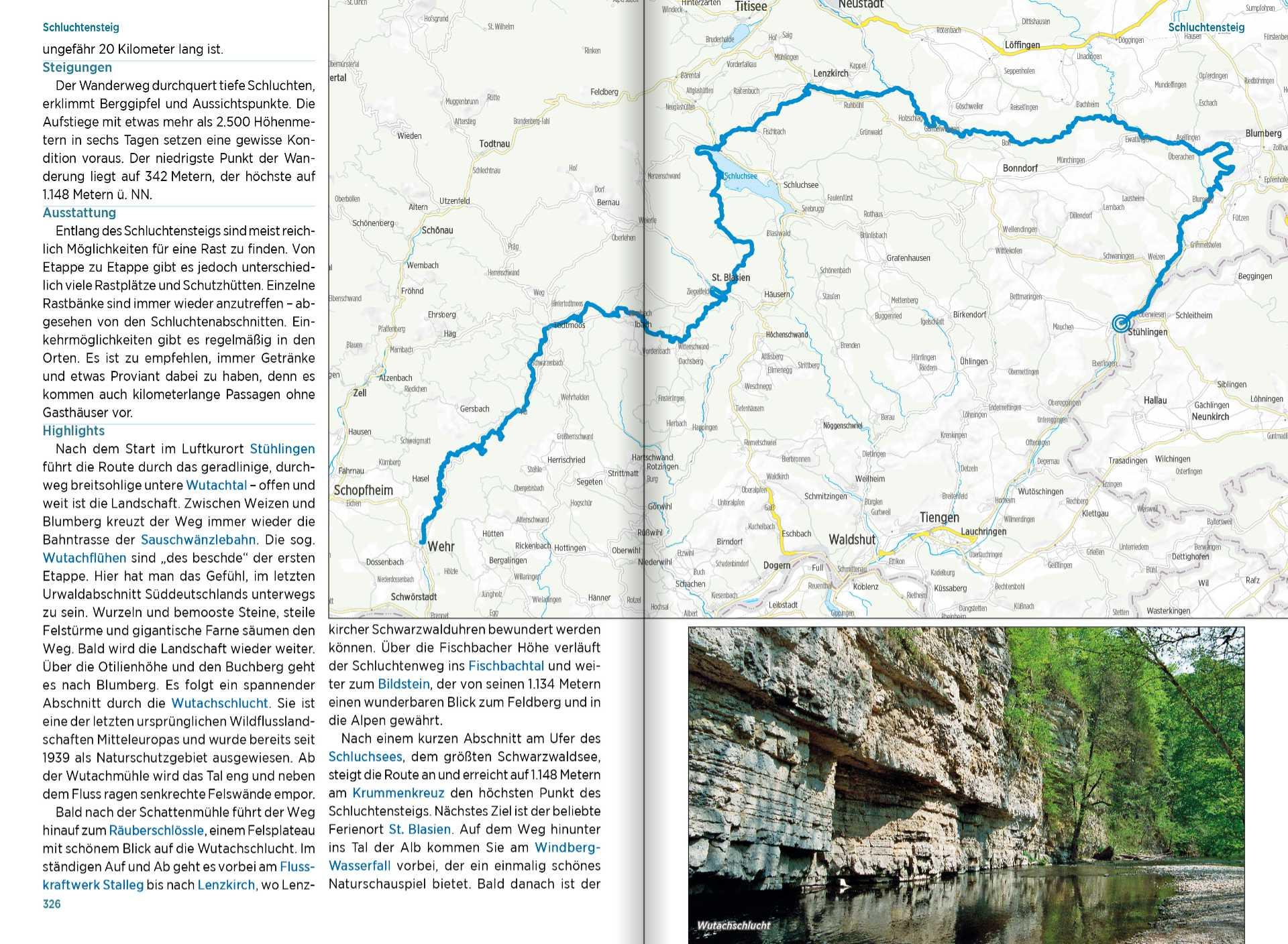 Hikeline Überblickswerk - Fernwanderwege Deutschland - Karte