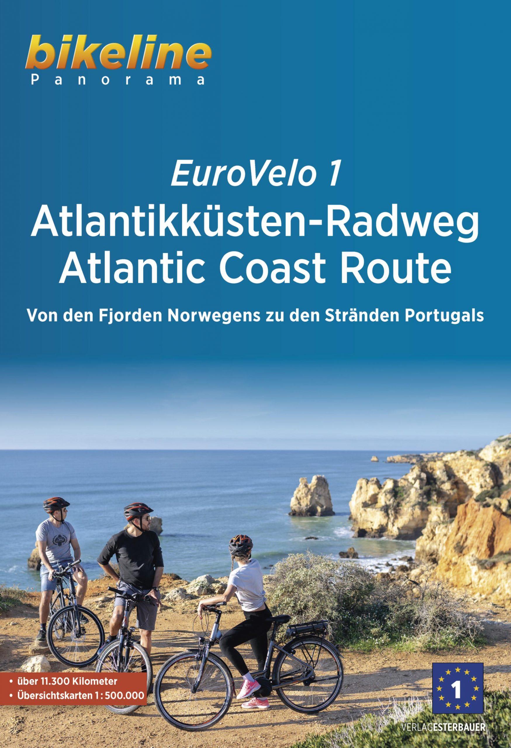 Foto vom Eurovelo 1 Atlantikküsten-Radweg Atlantic Coast Route