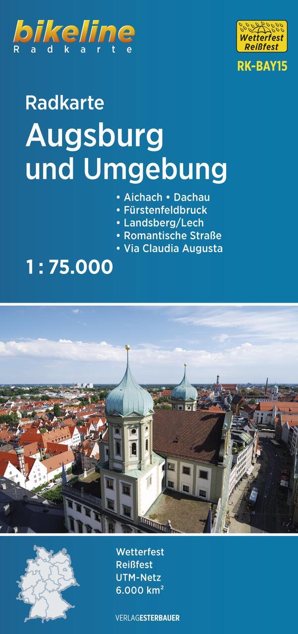 Foto vom Radkarte Augsburg und Umgebung