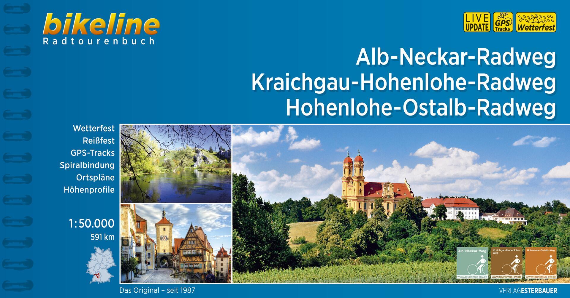 Foto vom Alb-Neckar-Weg • Kraichgau-Hohenlohe-Radweg • Hohenlohe-Ostalb-Weg