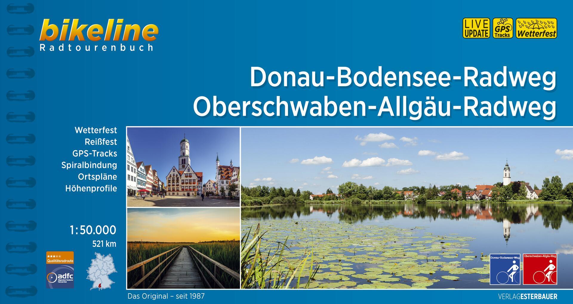 Foto vom Donau-Bodensee-Radweg • Oberschwaben-Allgäu-Radweg