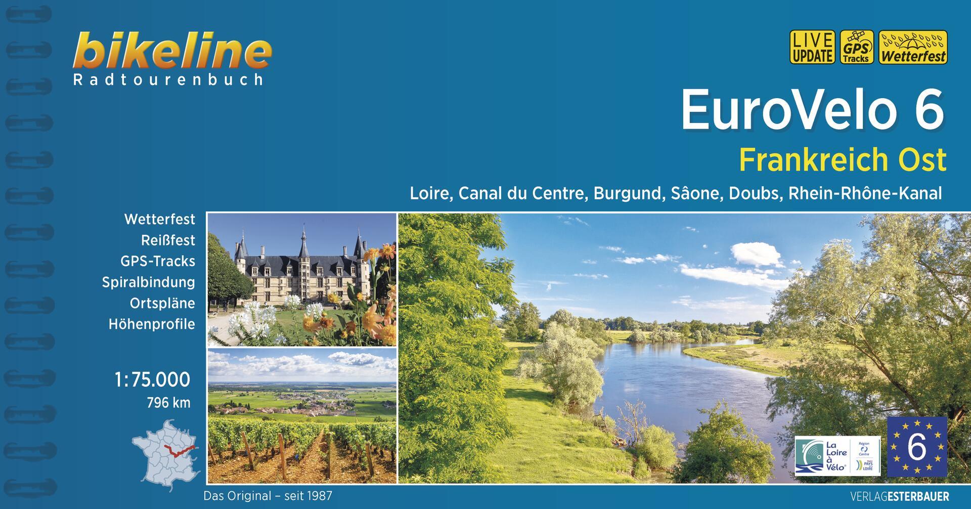 Foto vom Eurovelo 6 • Frankreich Ost
