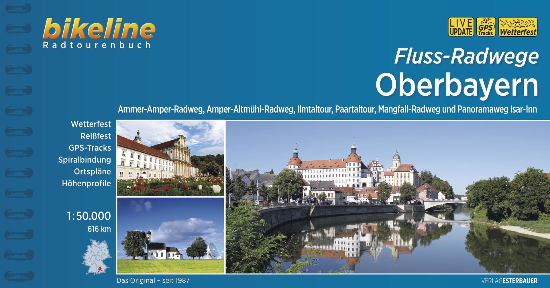 Foto vom Fluss-Radwege Oberbayern