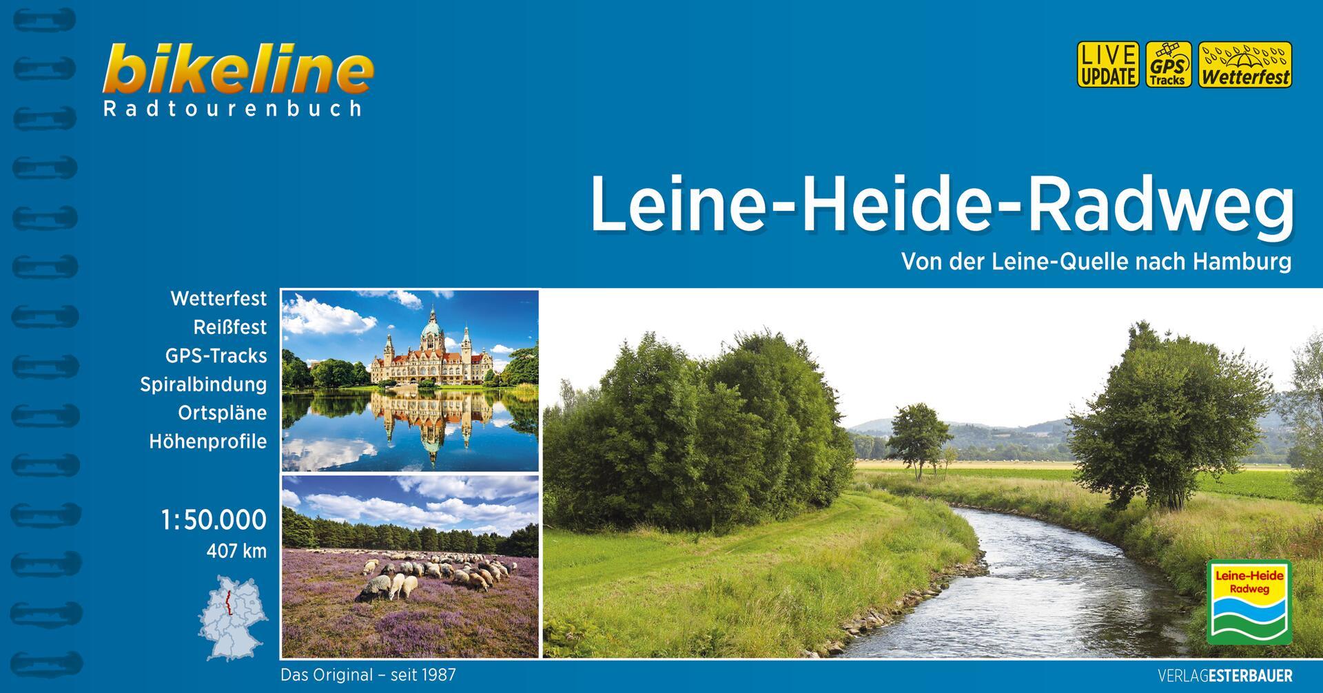 Foto vom Leine-Heide-Radweg