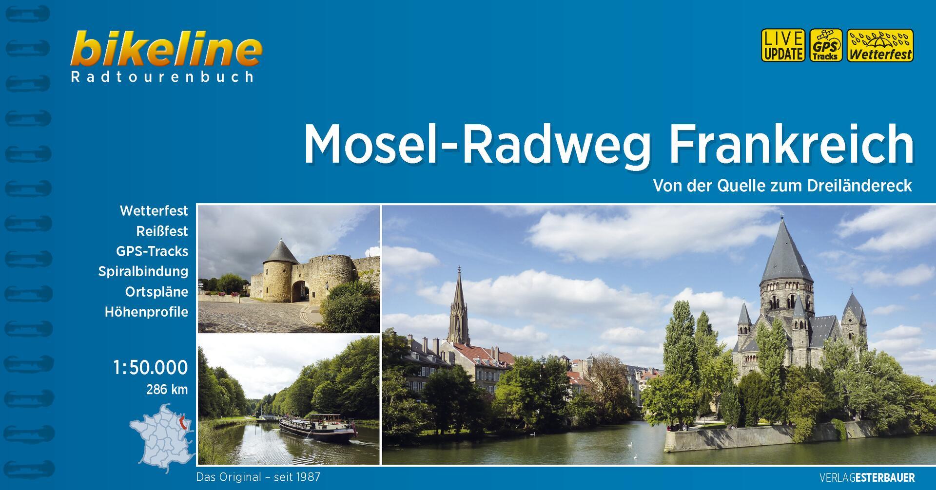 Foto vom Mosel-Radweg Frankreich