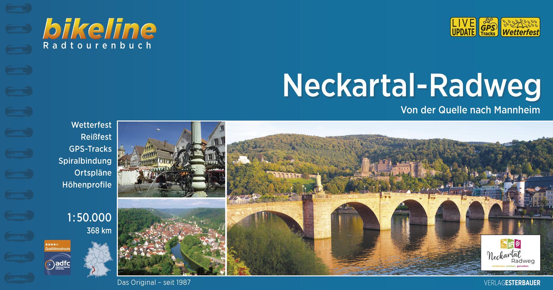 Foto vom Neckartal-Radweg