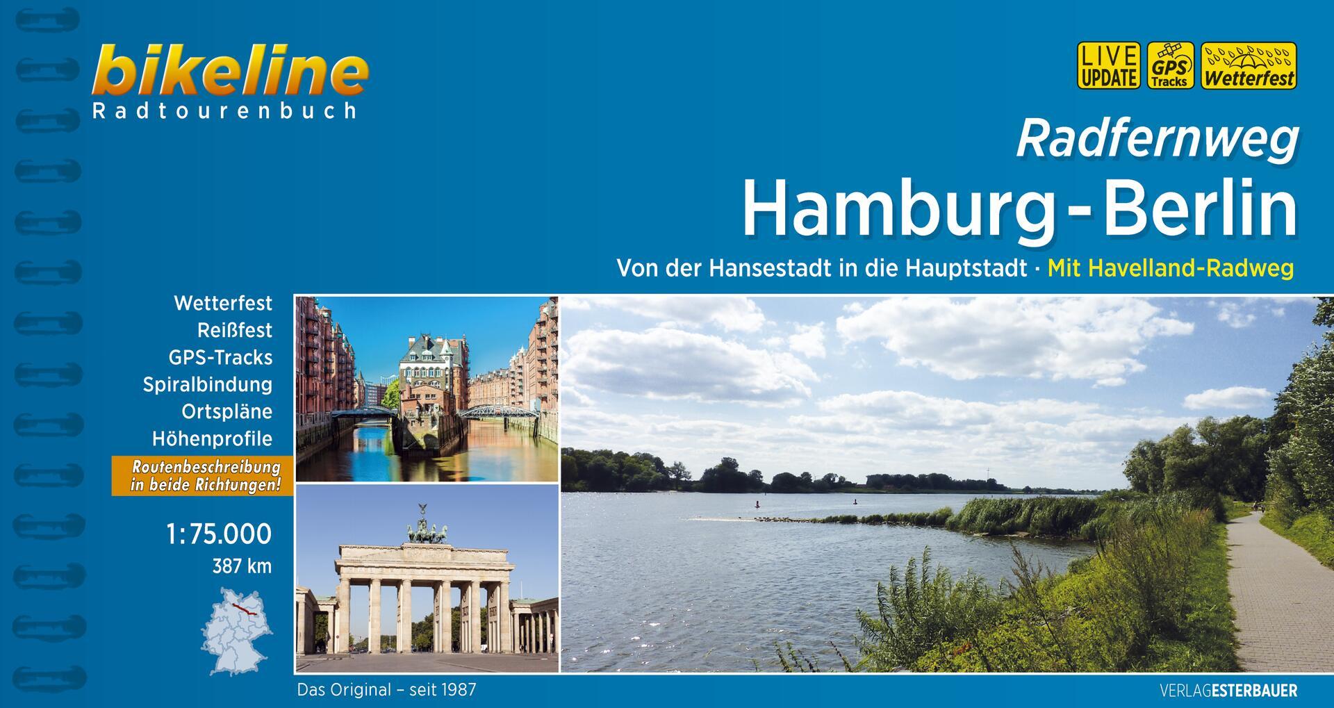 Foto vom Radfernweg Hamburg-Berlin