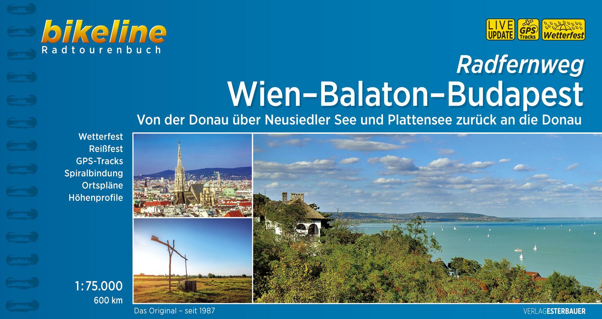 Foto vom Radfernweg Wien-Balaton-Budapest