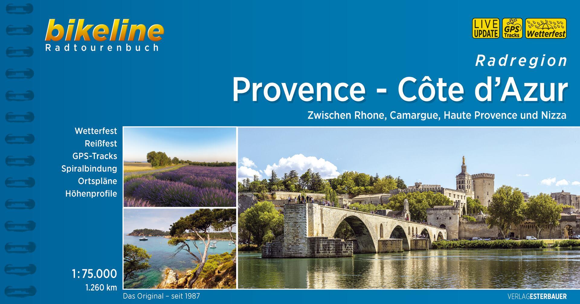 Foto vom Radregion Provence - Côte d'Azur