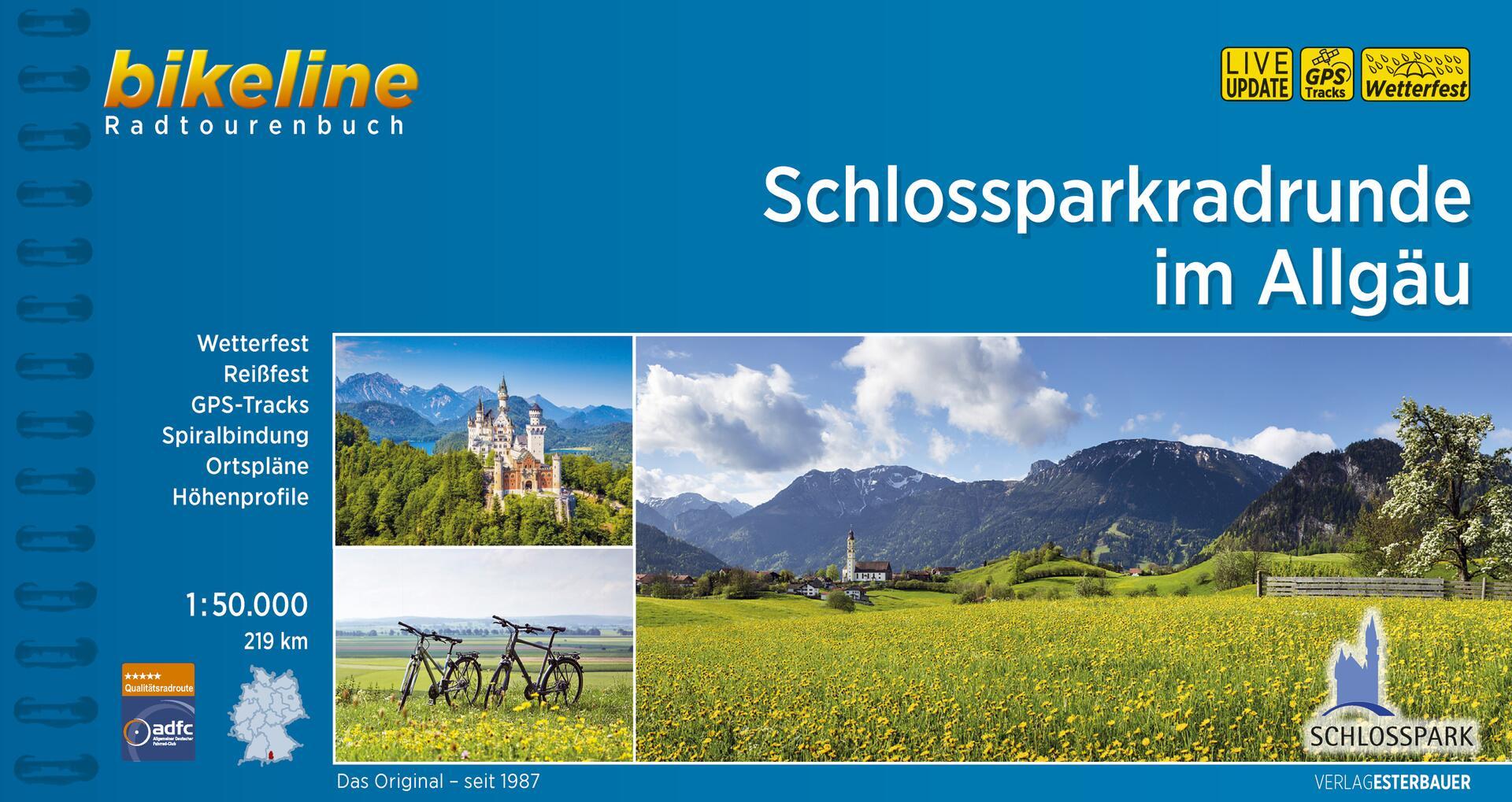 Foto vom Schlossparkradrunde im Allgäu