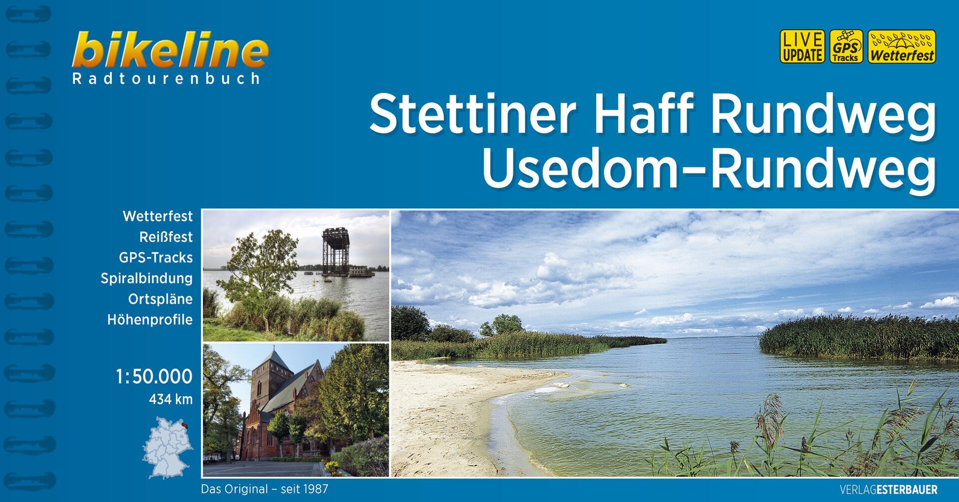 Foto vom Stettiner Haff Rundweg • Usedom-Rundweg