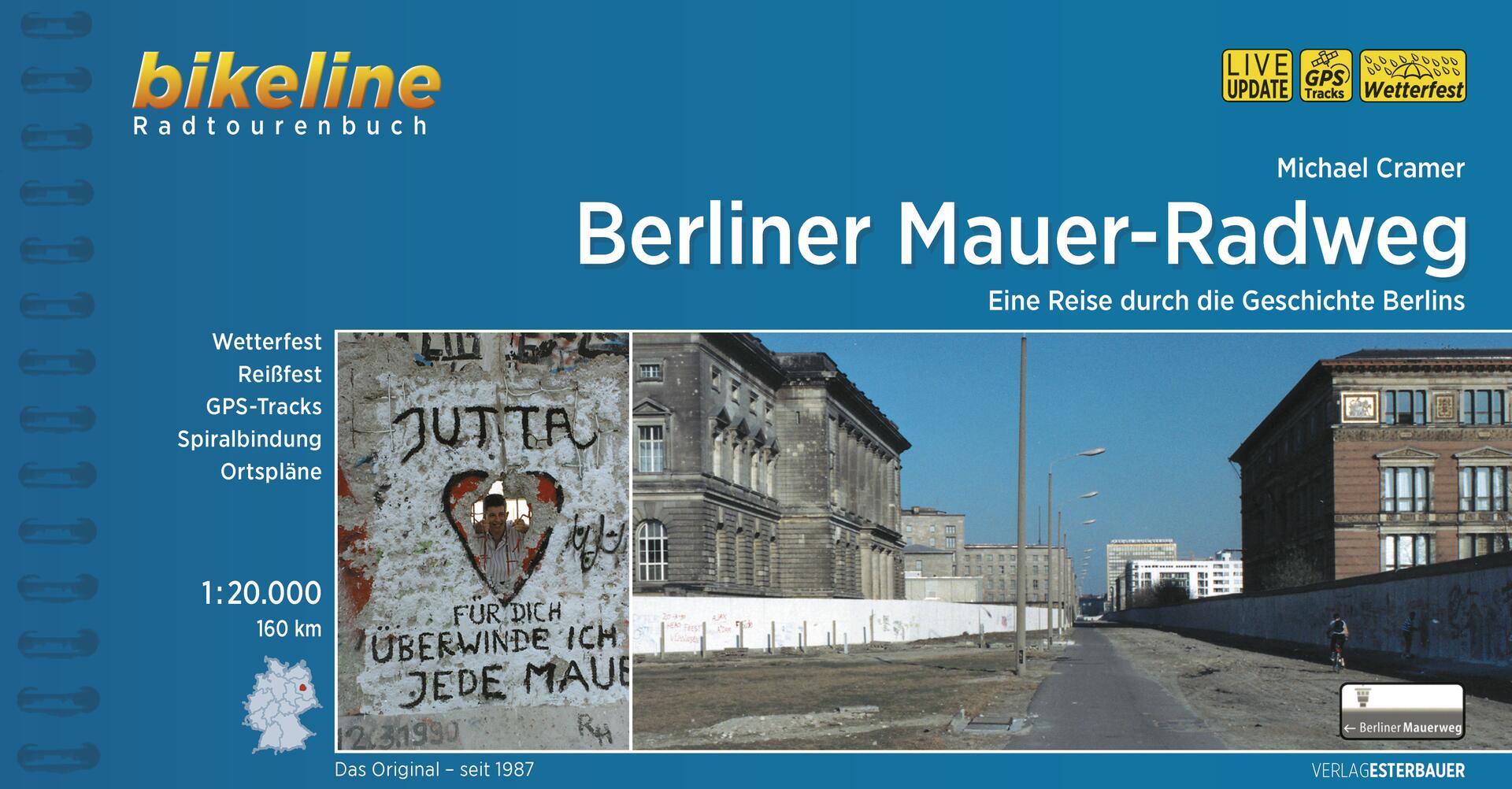 Foto vom Berliner Mauer-Radweg
