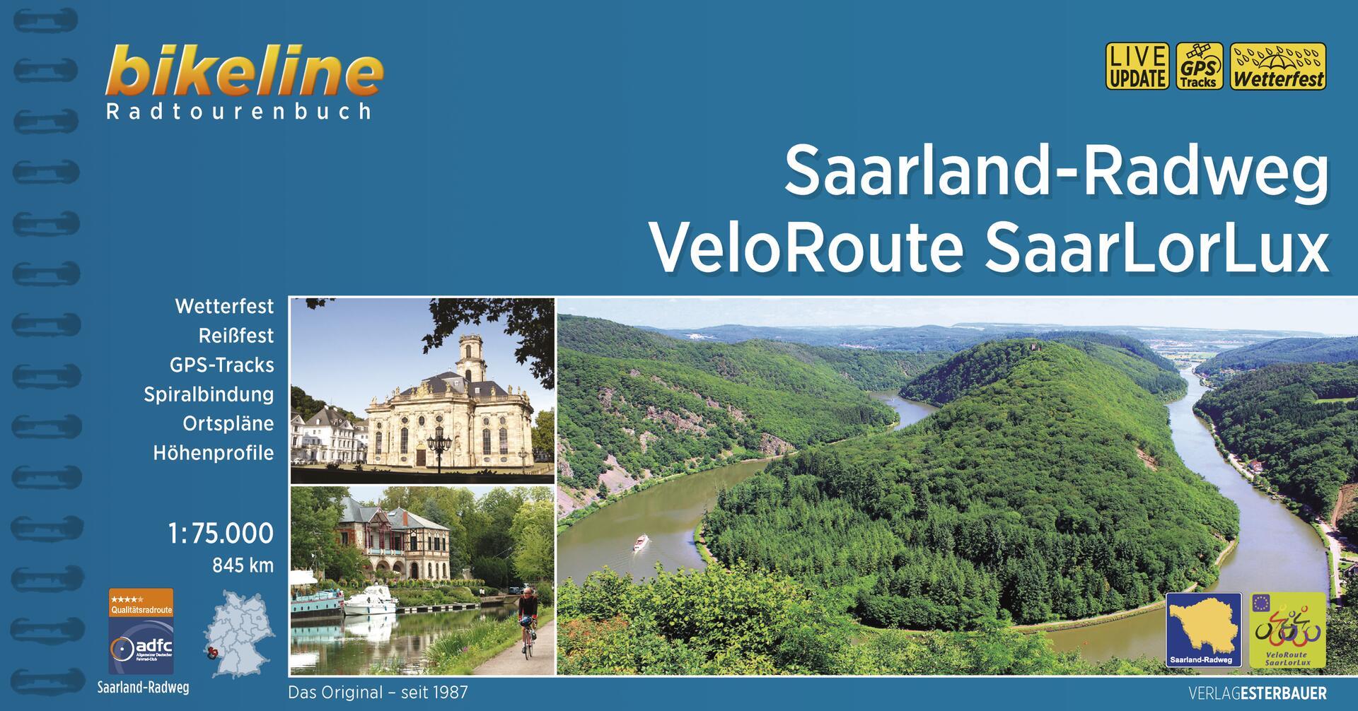 Foto vom Saarland-Radweg • VeloRoute SaarLorLux